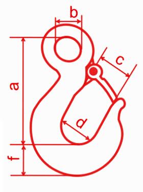 Крюк чалочный тип 320A