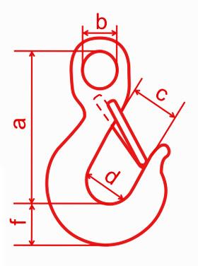 Крюк чалочный К1
